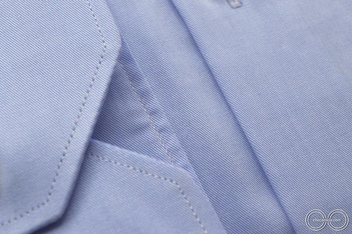 Tessuto Town collo francese camicia celeste uomo Marrakech