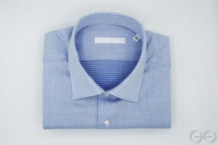 Camiceria CheCamicia camicia di qualita nantes tessuto operato di cotone