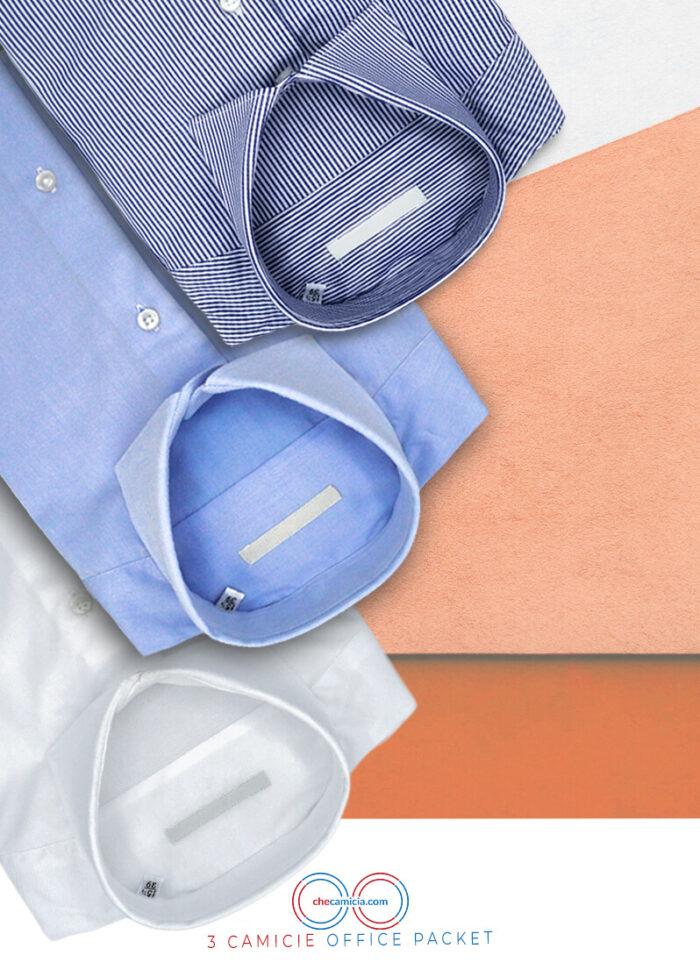 Camicia da uomo office packet 3 camicie online