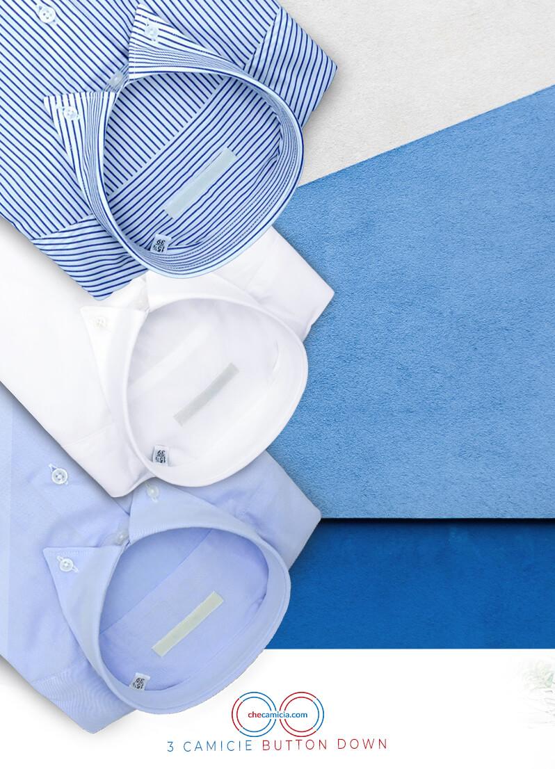 Camicie button down da uomo 100% cotone camicia online camiceria italiana