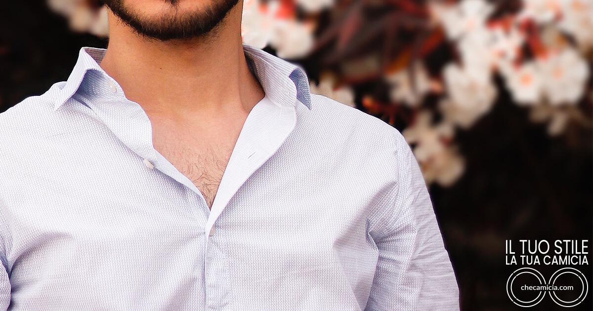 Sparato camicia parti che compongono la camicia di qualita
