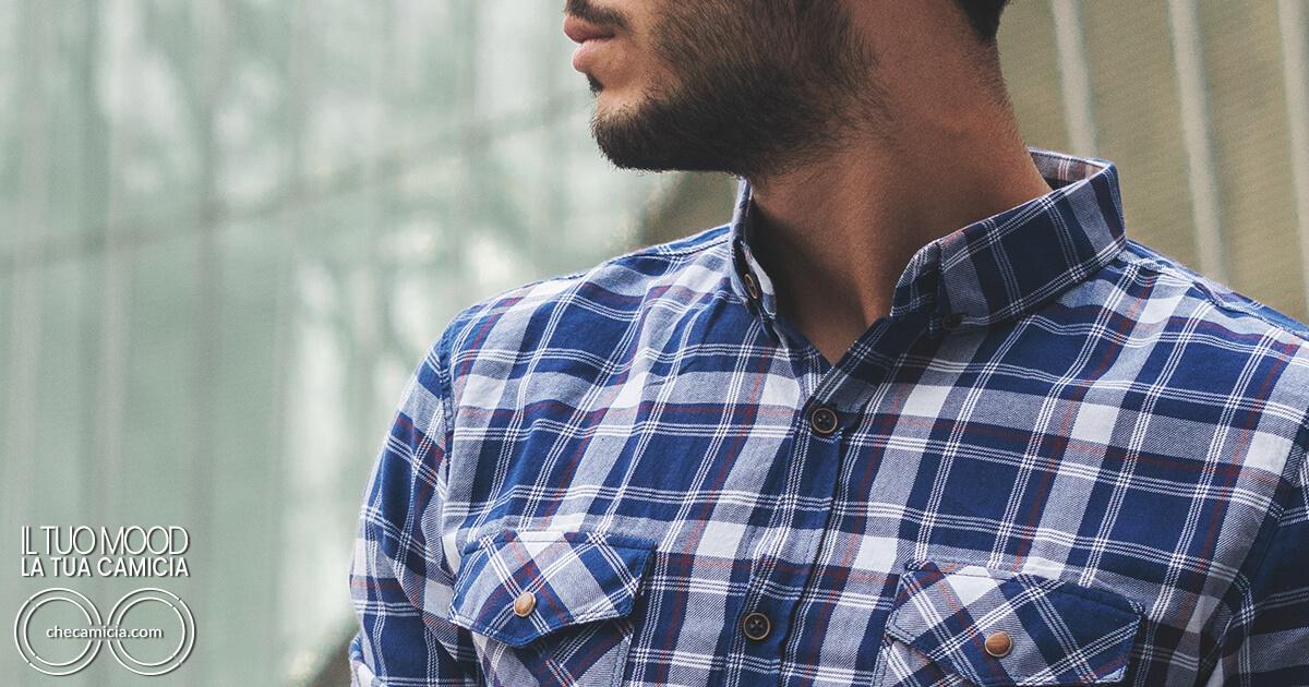 Maglietta sotto camicia canottiera della salute checamicia