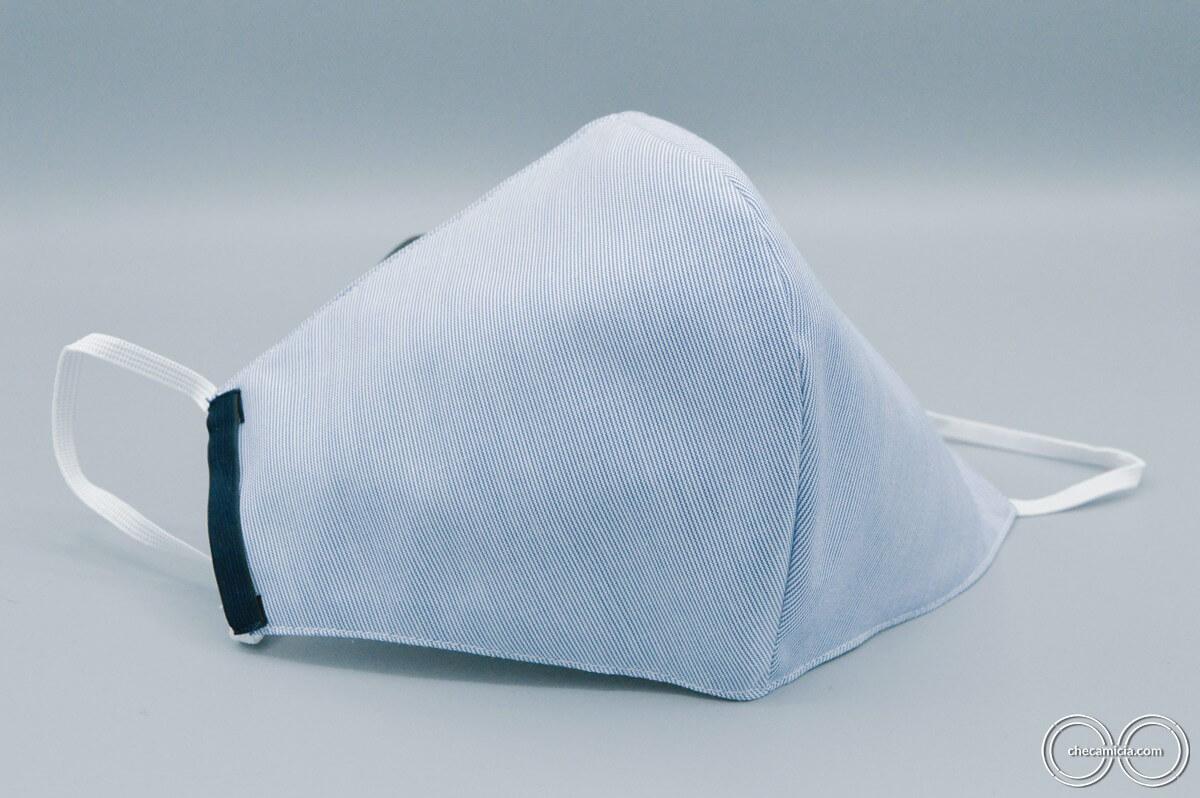 Mascherine tessuto riutilizzabili mascherina protettiva checamicia