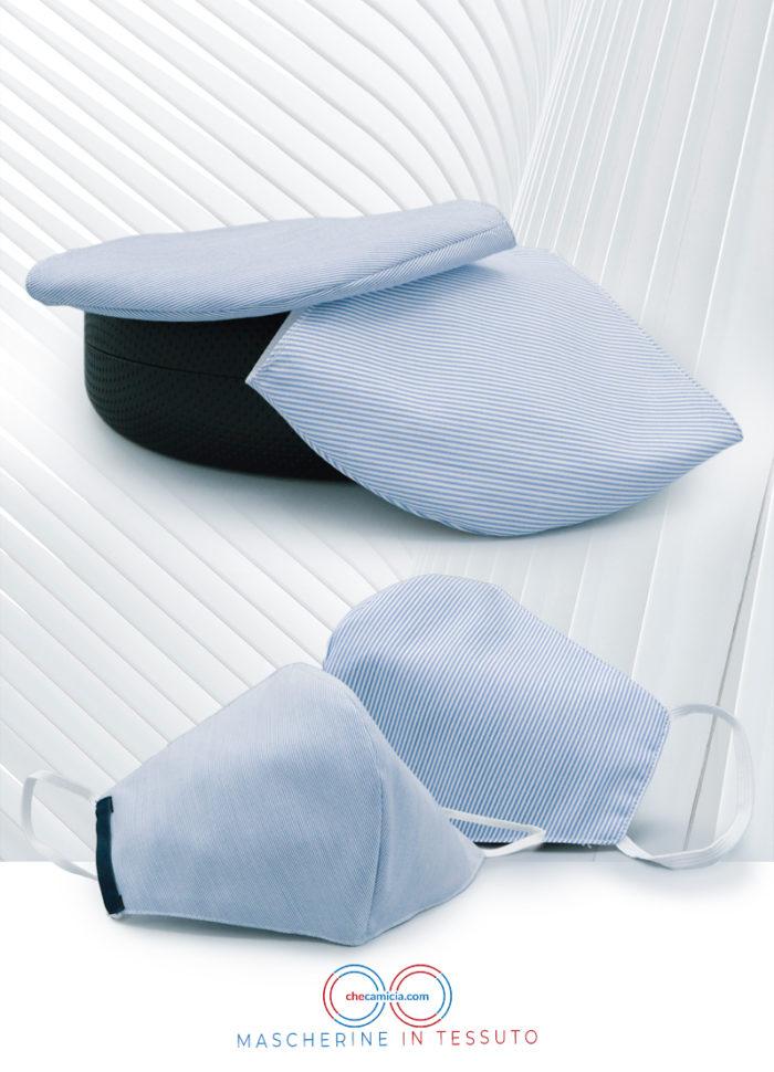 Mascherine in tessuto lavabili mascherina protettiva checamiciaMascherine in tessuto lavabili mascherina protettiva checamicia
