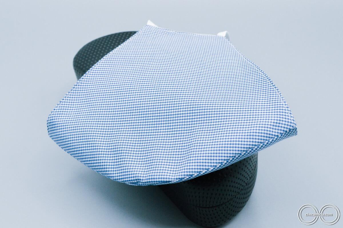 Mascherine lavabili in tessuto camicia checamicia_2