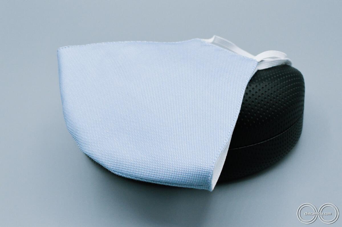 Mascherine lavabili in tessuto camicia checamicia_26