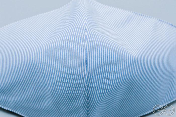 Mascherine lavabili in tessuto camicia checamicia_7