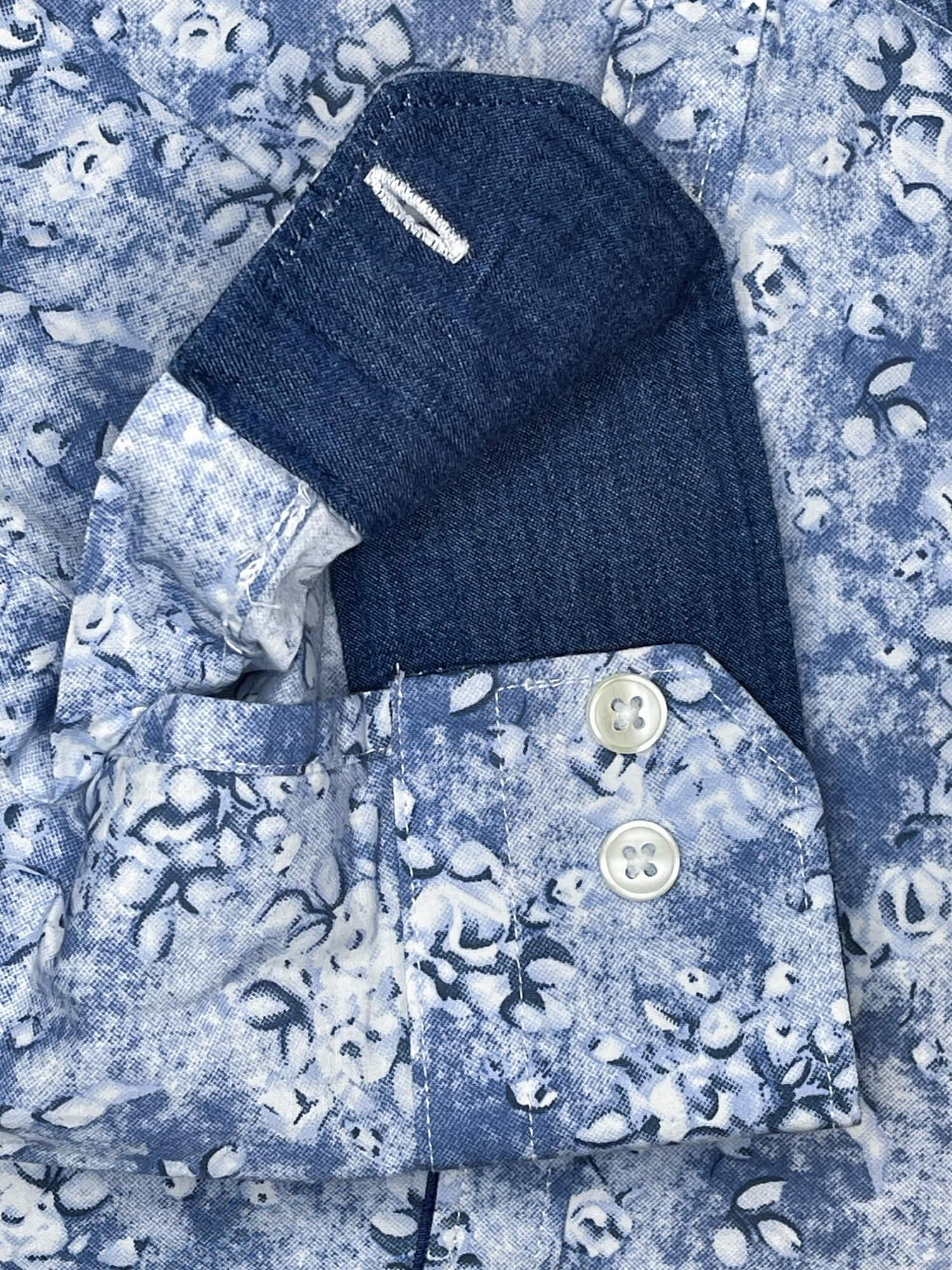 Camicia sportiva da uomo Arras 100 cotone camicie di qualità