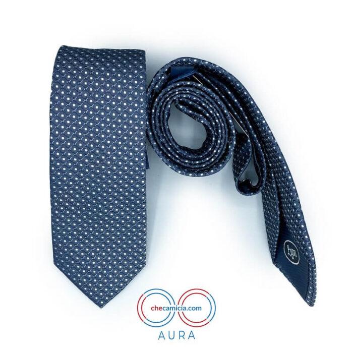 Cravatte shop online cravatta da uomo Aura CheCamicia