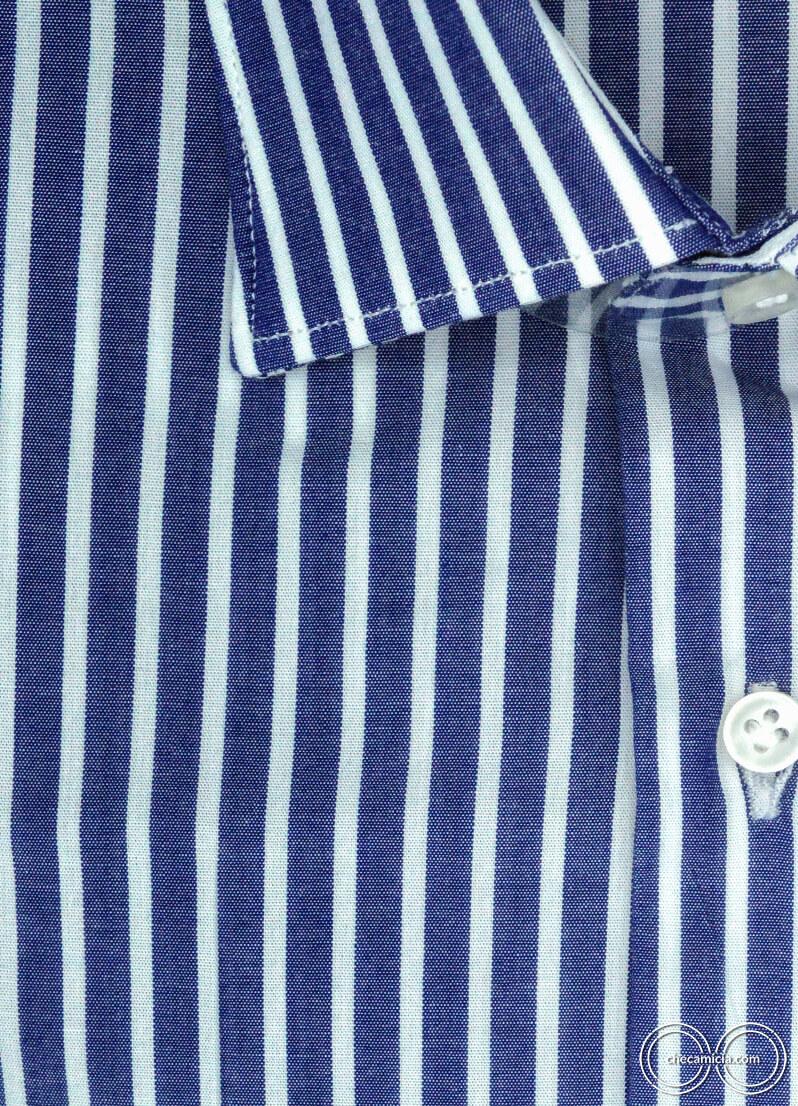 Camicia a righe blu da uomo Calcutta camicie online uomo