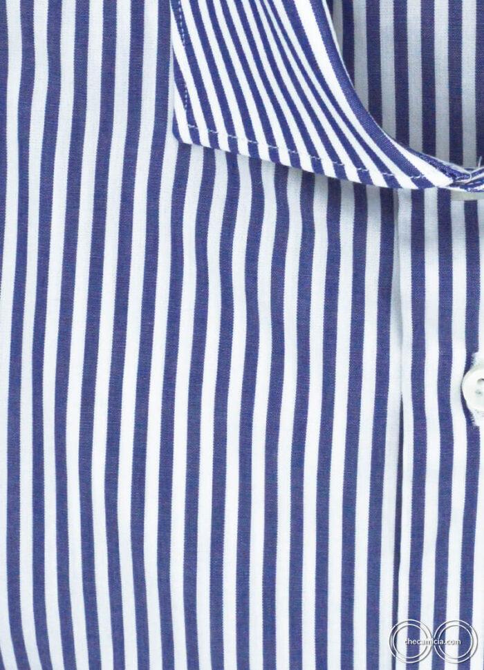 Camicia a righe blu da uomo Dallas camicie online uomo