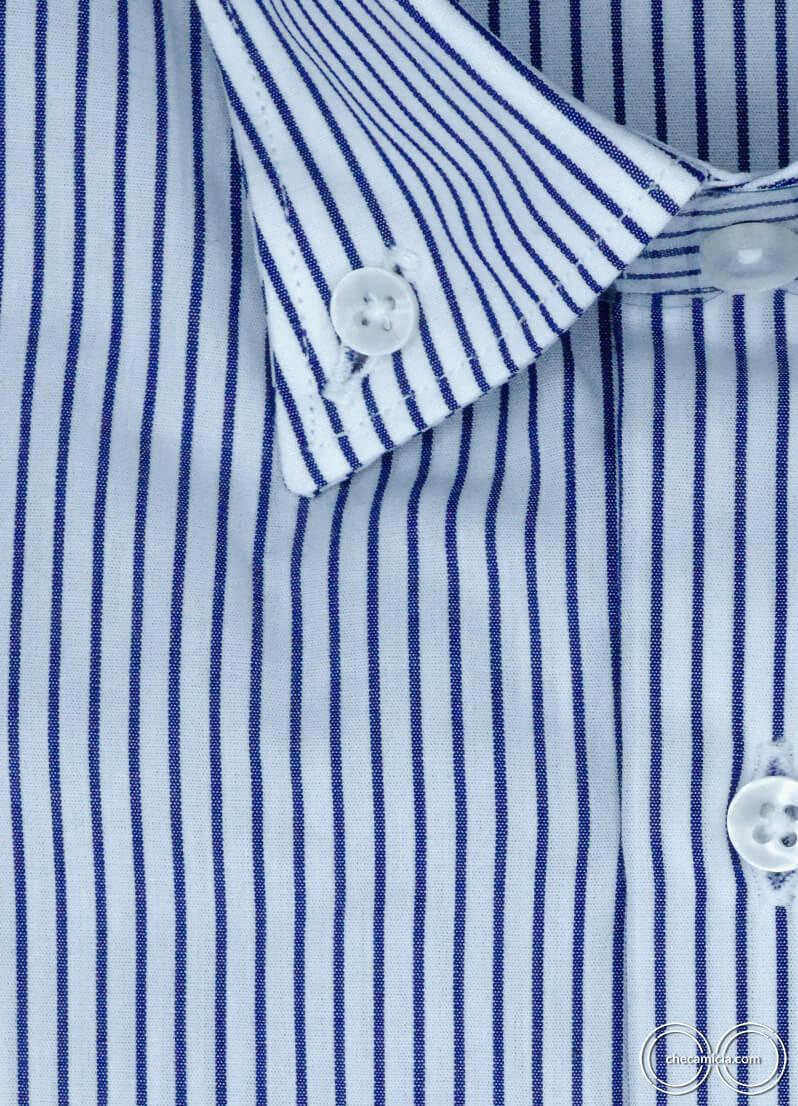 Camicia a righe blu da uomo New Jersey camicie online uomo