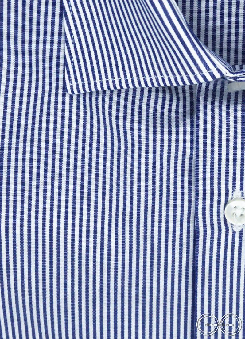 Camicia a righe blu uomo Portland camicie online uomo